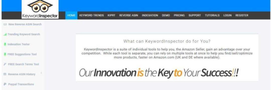 亚马逊关键词搜索排名、挖掘分析工具